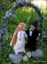 Familie: Hochzeit mit Bogen