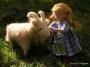 Lotta mit der Ziege